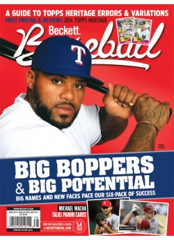 Beckett Baseball June 2014 #99 Prince Fielder Texas Rangers