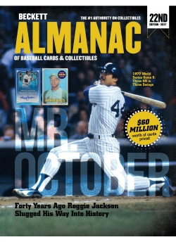 Beckett Almanac of Baseball Cards & Collectibles 22nd Edition. All New for 2017!