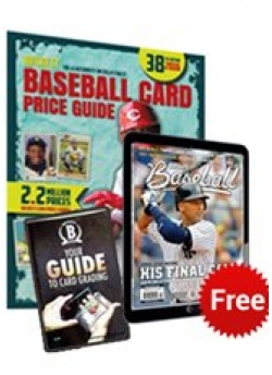 Beckett Baseball Card Price Guide #38 + 3 Months Baseball Digital Subscription FREE