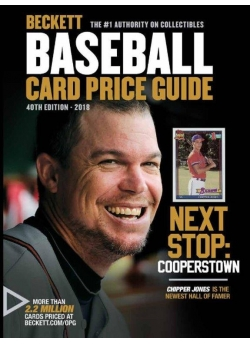 2018 Beckett Baseball Card Price Guide 40th Edition