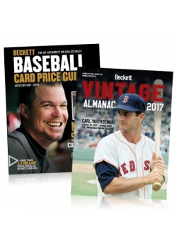 Purchase Beckett Baseball Price Guide #40 and get Vintage Almanac #3 FREE