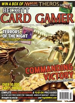 Beckett Card Gamer Winter 2013