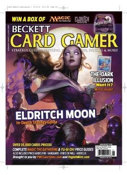 Beckett Card Gamer-Fall 2016