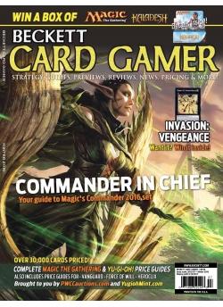 Beckett Card Gamer-Winter 2016