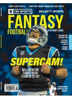 BECKETT FANTASY FOOTBALL - 1 2016