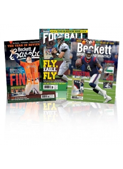6 Month Baseball Print + 6 Month Football Print + 6 Month Sports Card Monthly Print Subscription
