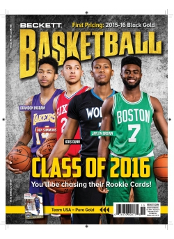 Beckett Basketball 288 October 2016