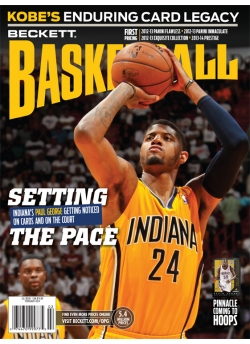 Beckett Basketball 257 February Paul George Pacers