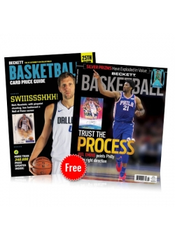 FREE Basketball Magazine with Basketball Card Price Guide #25