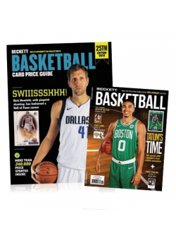 Purchase Basketball Card Price Guide #25 and Get 3 months Basketball Subscription FREE