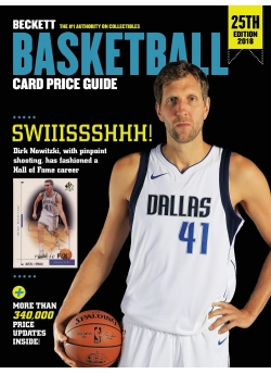 Beckett Basketball Card Price Guide 25th Edition 2017-18