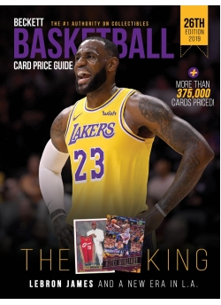 The Beckett Basketball Card Price Guide #26 2018-19