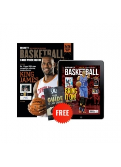 Beckett Basketball Card Price Guide #24 + 3 Month Basketball Digital Subscription Free