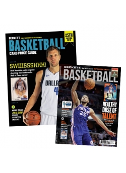 Purchase Beckett Basketball Card Price Guide #25 and get 3 Months Basketball Subscription FREE