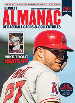 2020 Beckett Almanac of Baseball Cards & Collectibles #25