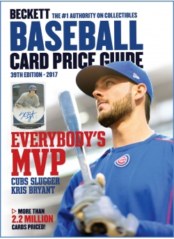 Beckett Baseball Card Price Guide 39th Edition + 3 Months Digital Subscription FREE