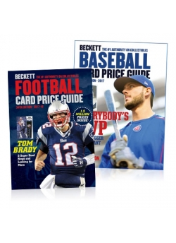 Baseball Card Price Guide #39 + Football Card Price Guide #34 COMBO