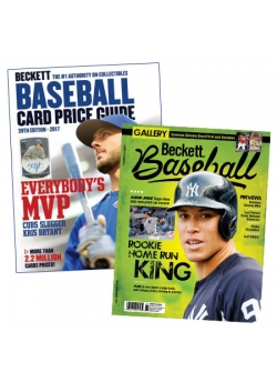Purchase Beckett Baseball Card Price Guide #39 and get 3 Months Baseball Subscription FREE
