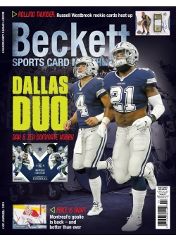Beckett Sports Card Monthly 383 February 2017