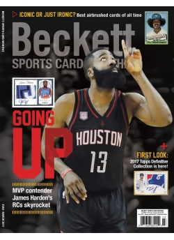 Beckett Sports Card Monthly 384 March 2017