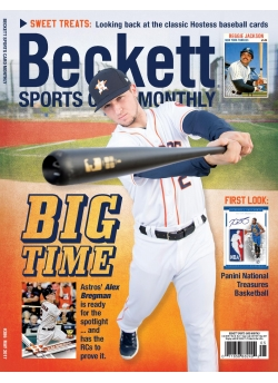 Beckett Sports Card Monthly 386 May 2017