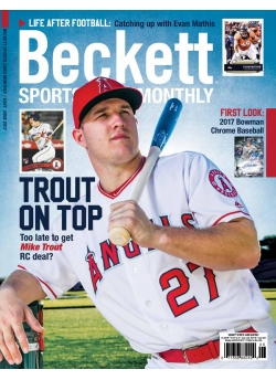 Beckett Sports Card Monthly 387 June 2017