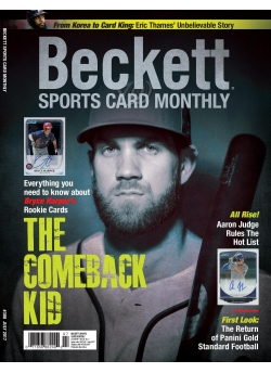 Beckett Sports Card Monthly 388 July 2017