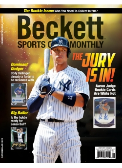Beckett Sports Card Monthly 390 September 2017