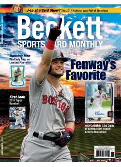 Beckett Sports Card Monthly 391 October 2017
