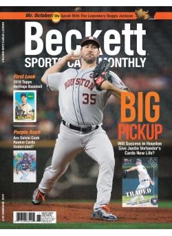 Beckett Sports Card Monthly 392 November 2017