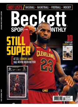 Beckett Sports Card Monthly 395 February 2018