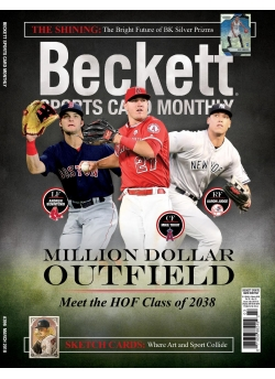 Beckett Sports Card Monthly 396 March  2018