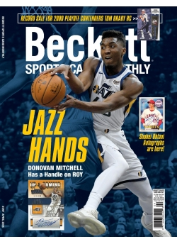Beckett Sports Card Monthly 397 April 2018