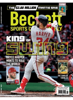 Beckett Sports Card Monthly 399 June 2018