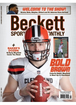 Beckett Sports Card Monthly 400 July 2018