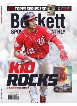 Beckett Sports Card Monthly 401 August 2018