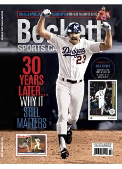 Beckett Sports Card Monthly 402 September 2018