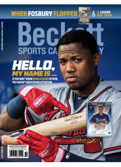 Beckett Sports Card Monthly 403 October 2018