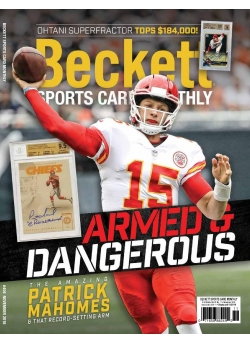 Beckett Sports Card Monthly 404 November 2018