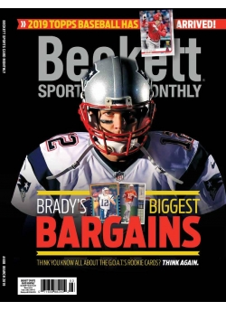 Beckett Sports Card Monthly 408 March 2019