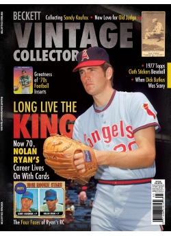 Beckett Vintage Collector April 2017