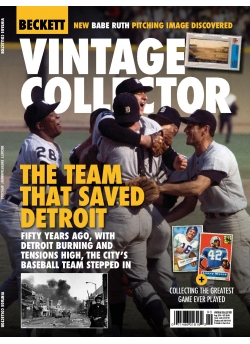 Beckett Vintage Collector August 2018