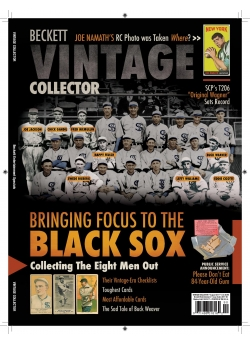 Beckett Vintage Collector August 2017