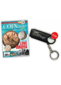 Beckett COINage + Free Magnifier Key Chain