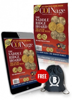 Beckett Coinage + Digital Coinage (Two Issue Free) + Sling Bag Free