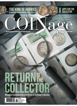 Coinage August 2018