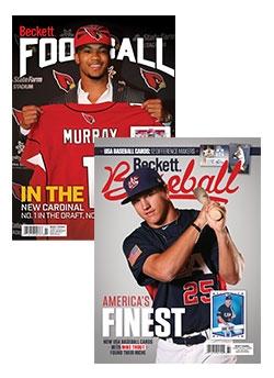 Beckett Football and Beckett Baseball Combo for just $71