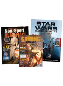 Entertainment Bundle Offer (Non-Sports Almanac, Star Wars Collectibles, Gaming Almanac)