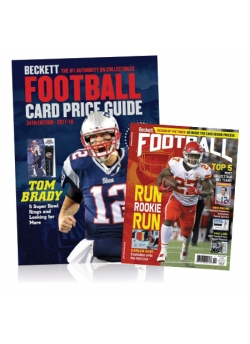 Purchase Football Card Price Guide #34 and Get 3 months Football Subscription FREE