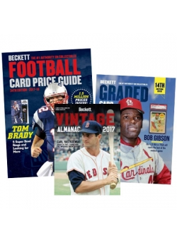 Football Bundle Offer (Football Price guide, Vintage Price Guide, Graded Price Guide)